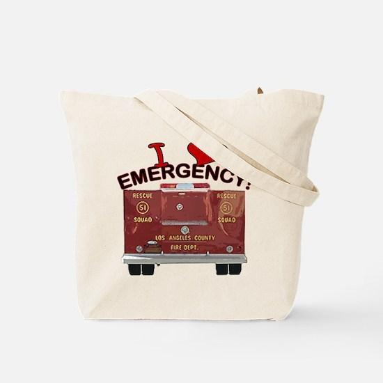 I Love EMERGENCY! Tote Bag