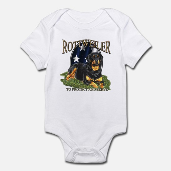 To protect & Serve Infant Creeper