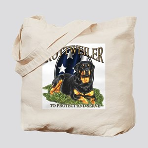To protect & Serve Tote Bag