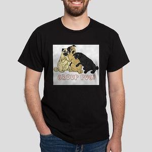 Group Pug Dark T-Shirt