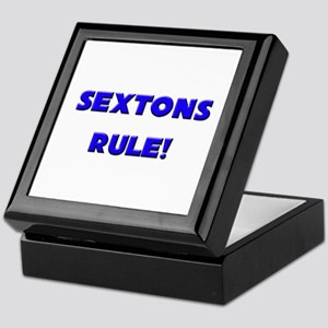 Sextons Rule! Keepsake Box