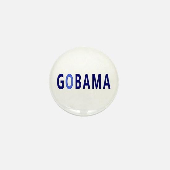 Baby Blue GOBAMA Mini Button