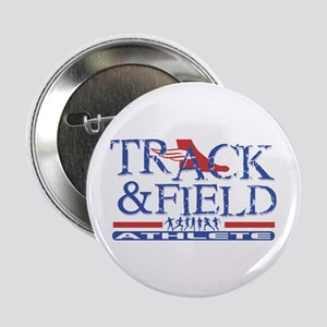 "Track and Field Athlete 2.25"" Button"