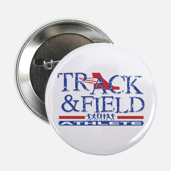 "Track and Field Athlete 2.25"" Button (10 pack)"