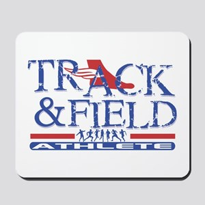 Track and Field Athlete Mousepad