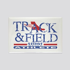 Track and Field Athlete Rectangle Magnet (10 pack)