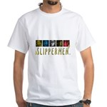 Slippermen White T-Shirt