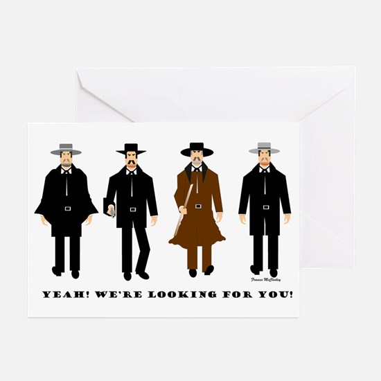OK Corral Greeting Cards (Pk of 10)