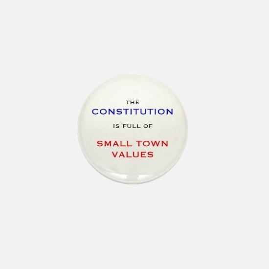 Constitution Values Mini Button