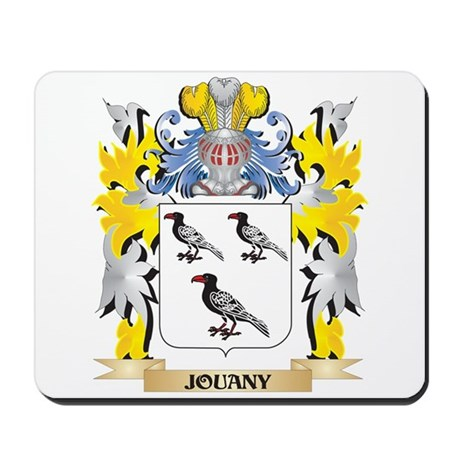 Jouany Coat of Arms - Family Crest Mousepad