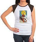 Midnight Women's Cap Sleeve T-Shirt