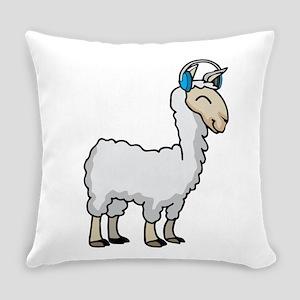 Llama Lama Alpaca Music Everyday Pillow