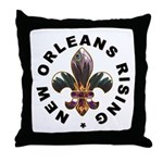 New Orleans Rising : Throw Pillow