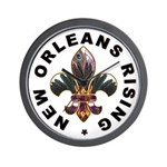 New Orleans Rising : Wall Clock