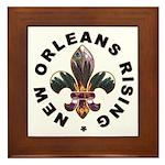 New Orleans Rising : Framed Tile