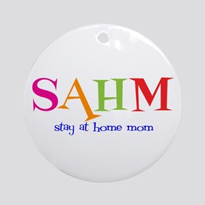 Stay at Home Mom Ornament (Round)