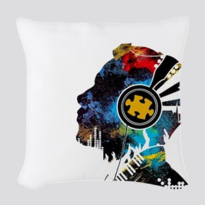 Rockin' 2017 Woven Throw Pillow
