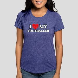 I Love my Footballer T-Shirt
