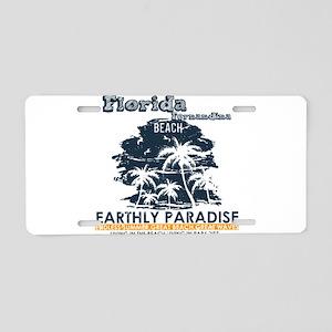 Florida - Fernandina Beach Aluminum License Plate
