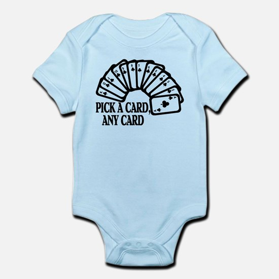 Pick A Card Infant Bodysuit