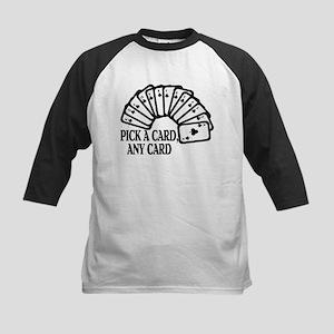Pick A Card Kids Baseball Jersey