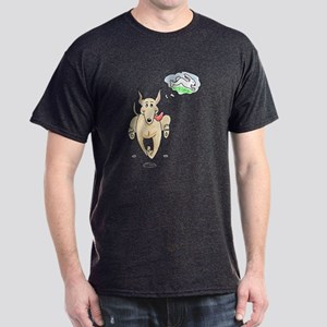 Fawn Greyhound Dream Dark T-Shirt