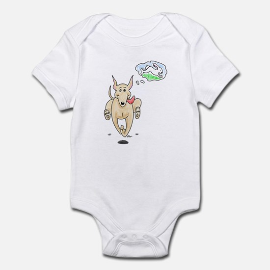 Fawn Greyhound Dream Infant Bodysuit
