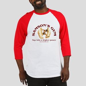 Samson's Gym Higher Power Baseball Jersey