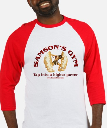 Samson's Gym Higher Power Baseball Jersey