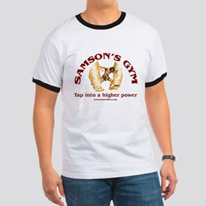 Samson's Gym Higher Power Ringer T