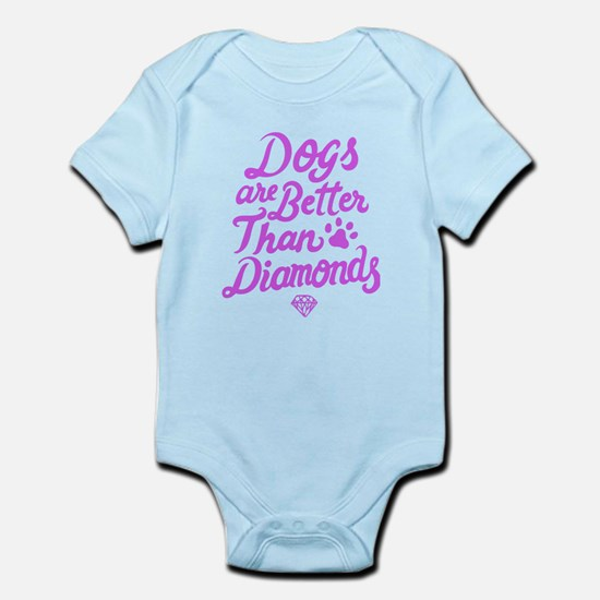 Dogs Are Better Than Diamond T Shirt Body Suit