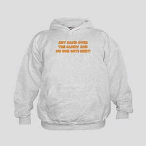 Hand Over the Candy Kids Hoodie