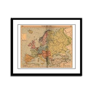 Europe, 1871 - 1914 Framed Panel Print