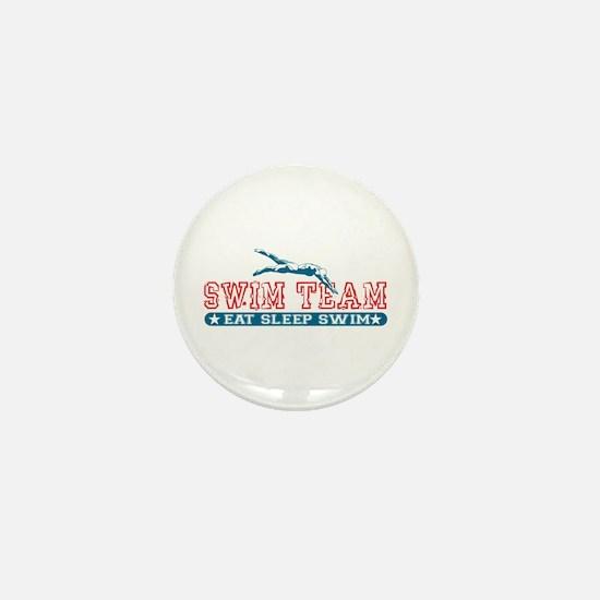 Women's Swim Team Mini Button