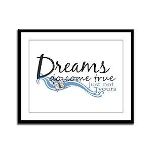 Sarcastistic Dreams Framed Panel Print