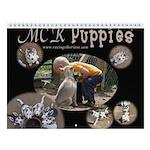 MCK Puppies Wall Calendar