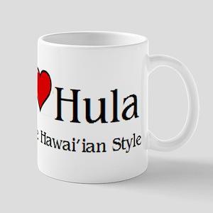 I Love Hula Mug