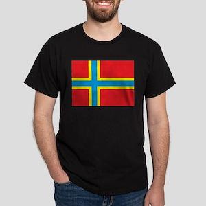 Orkney Islands Flag Dark T-Shirt