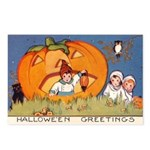 Childrens Halloween Postcards (Package of 8)