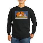 Childrens Halloween Long Sleeve Dark T-Shirt