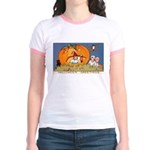 Childrens Halloween Jr. Ringer T-Shirt