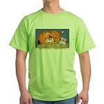 Childrens Halloween Green T-Shirt