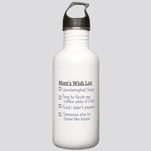 Mom's Wish List Stainless Water Bottle 1.0L