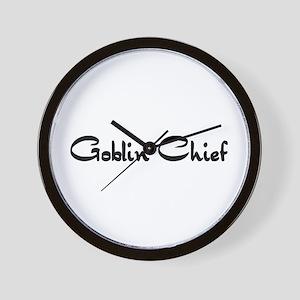 Goblin Chief Wall Clock
