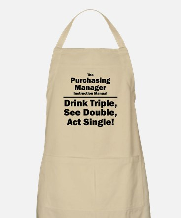 Purchasing Manager BBQ Apron
