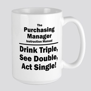 Purchasing Manager Large Mug