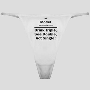 Model Classic Thong