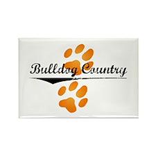 Bulldog Country Rectangle Magnet