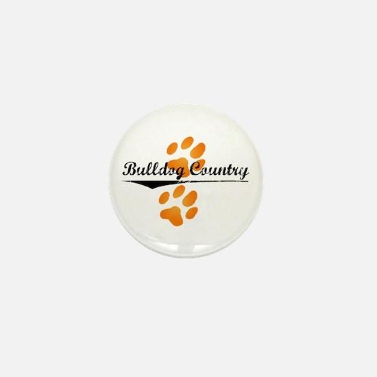 Bulldog Country Mini Button