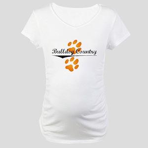 Bulldog Country Maternity T-Shirt